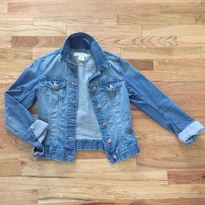H&M LOGG Denim Jacket Sz 4